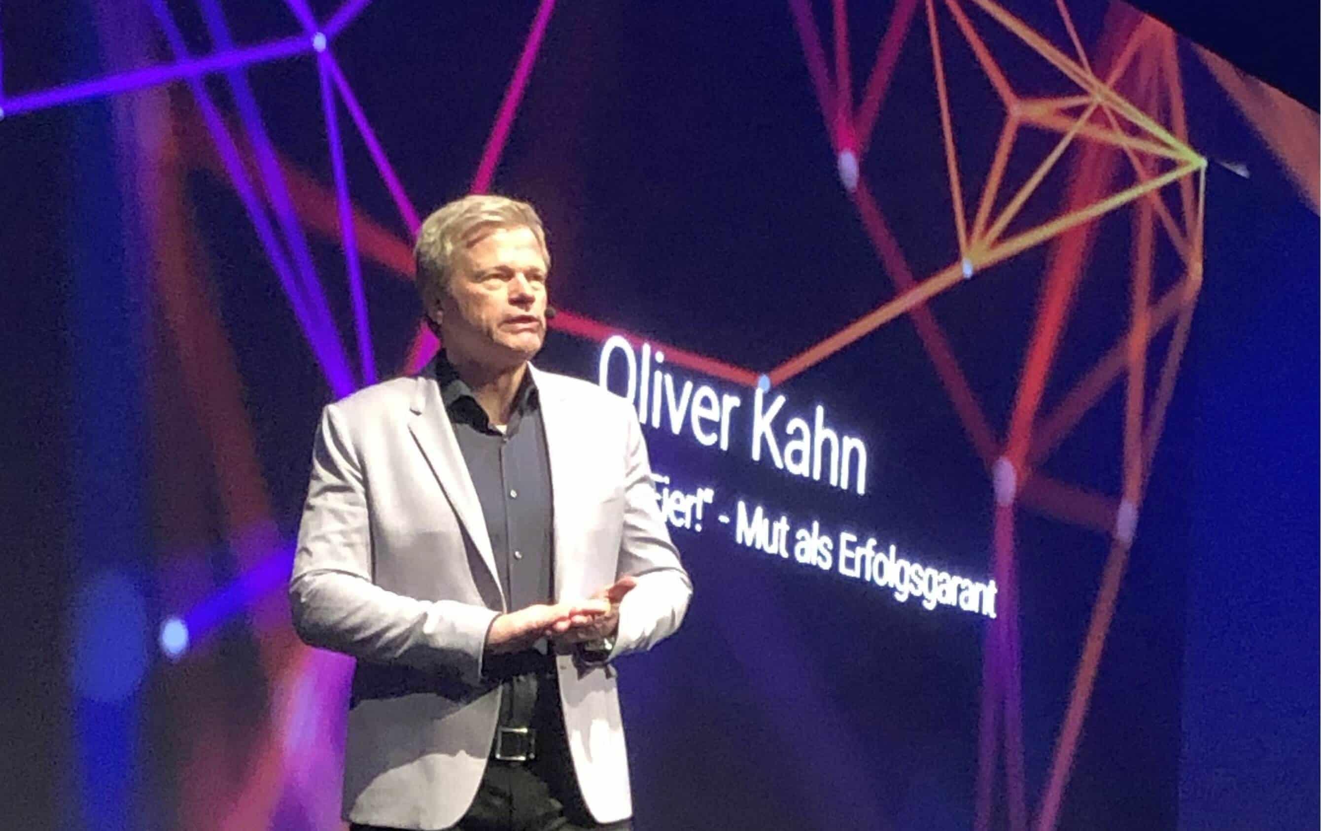 ▶ Oliver Kahn Wir brauchen Eier! Mut als Erfolgsgarant