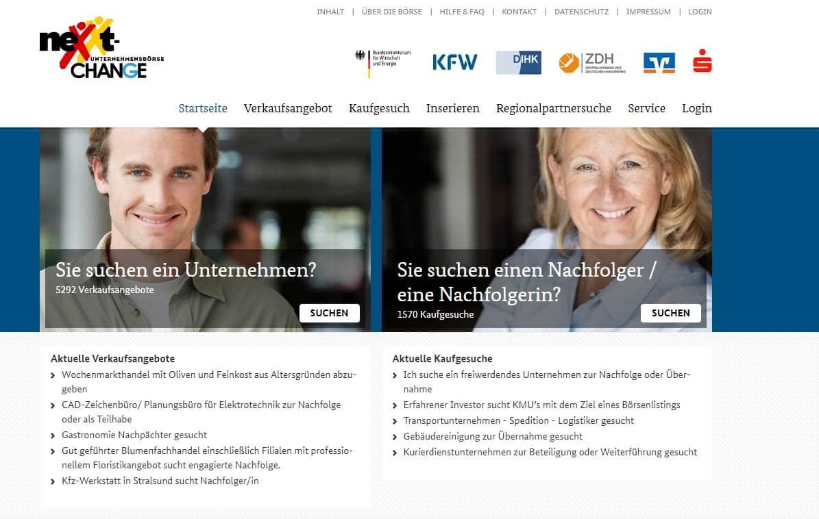Unternehmensnachfolge Nexxt-Change