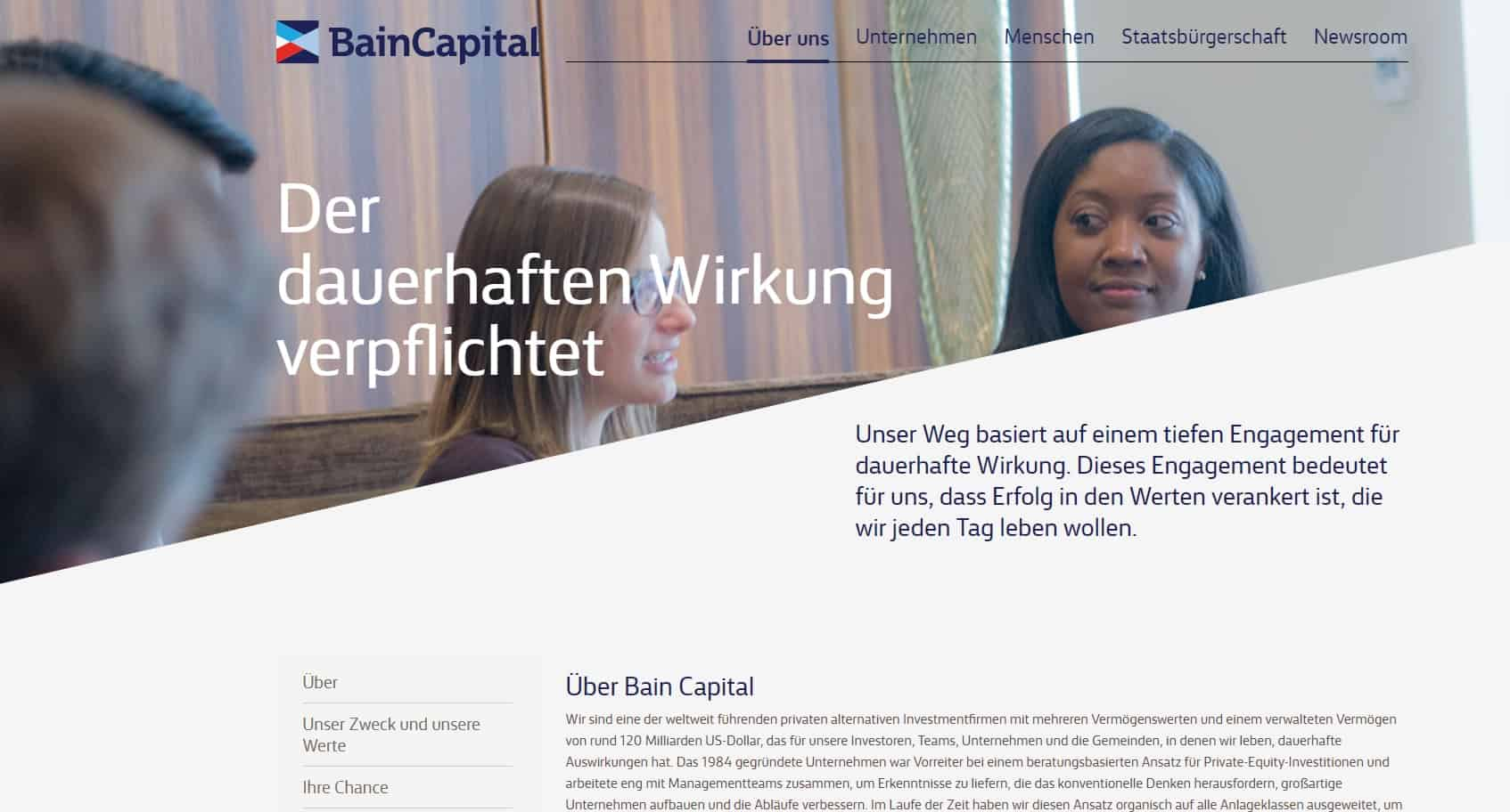Bain Capital Private Equity Germany Ranking: Top 15 Deutschland Liste